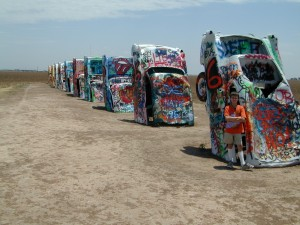 picture of desert art cars for hexayurttape.com