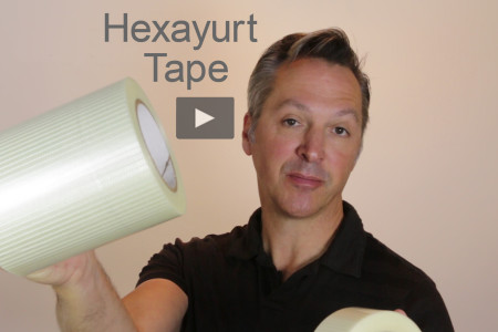 New! Hexayurt Tape Video
