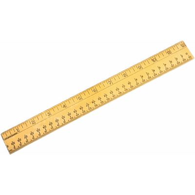 ruler for measuring hexayurt tape